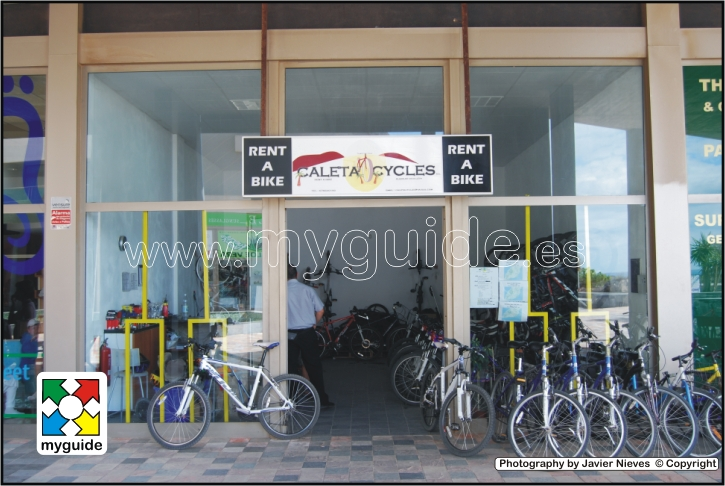 Caleta Cycles rent a bike in Caleta de Fuste, Fuerteventura