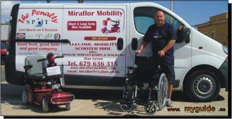 Mobility delivery service