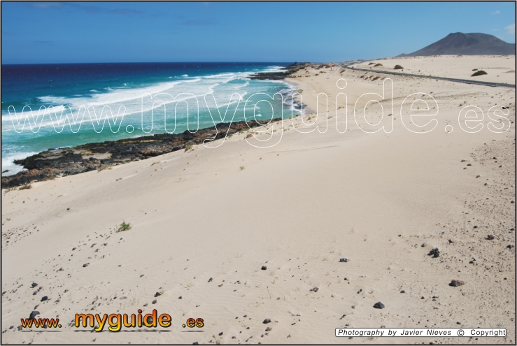 You are browsing images from the article: Poris Beach next to Corralejo in Fuerteventura