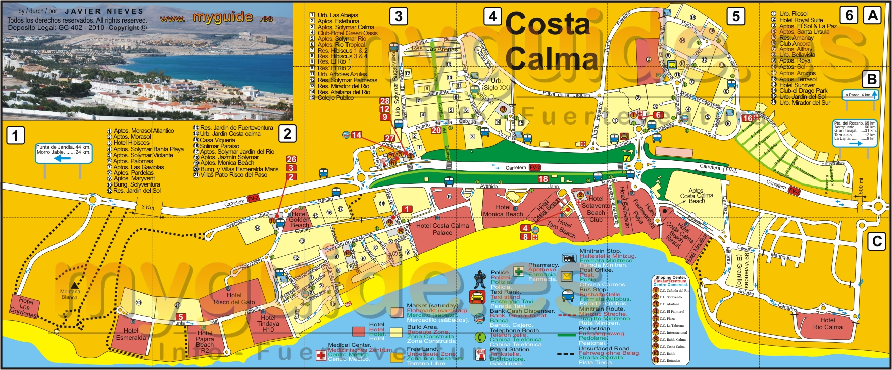 The Fuerteventura Maps You Need In Yor Holidays